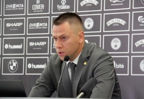 """E.Stankevičius: """"Dabar žinome situaciją ir turėsime laiko pasitvarkyti"""""""