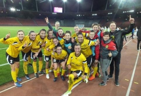 UEFA metraščiuose – ir Lietuvos čempionės