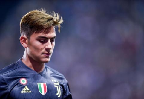 """""""Juventus"""" nesipriešintų P. Dybalos pardavimui"""