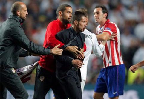 UEFA svarstys D.Simeone ir X.Alonso elgesį Čempionų lygos finale