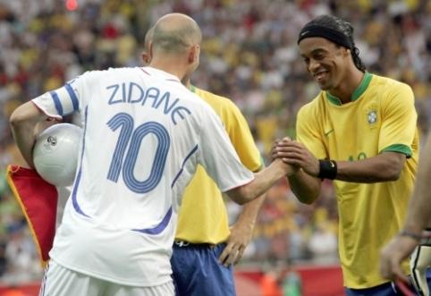 Atsukime laiką: legendinės Z. Zidane'o rungtynės pasaulio čempionate (I dalis)