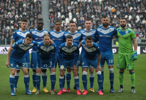 """""""Brescia"""" gali nežaisti likusių """"Serie A"""" rungtynių, jei pirmenybės bus pratęstos"""