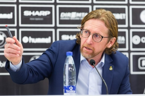 Lietuvos futbolo federaciją palieka techninis direktorius P. De Wilde