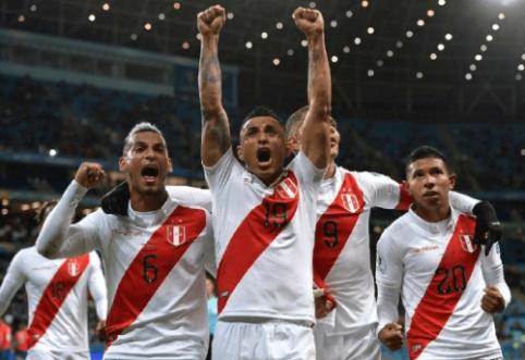 """Sensacija: Peru sutriuškino Čilę ir žengė į """"Copa America"""" finalą"""