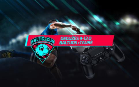 A lygos futbolininkai kovos dėl Baltijos eTaurės
