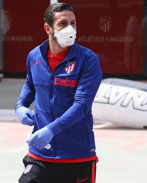 Ispanijos klubų žaidėjai po ilgos pertraukos susitiko treniruočių centre