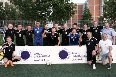 Lietuvos studentų čempionais paskelbti Šiaulių universiteto atstovai