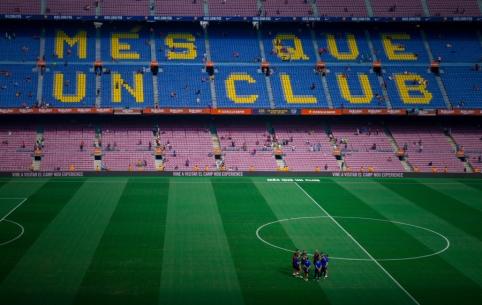 """""""Barcelona"""" ekipoje koronaviruso atvejų neužfiksuota"""