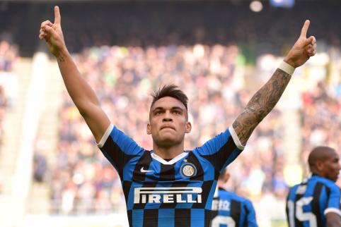 """L. Martinezas netrukus pratęs kontraktą su """"Inter"""""""