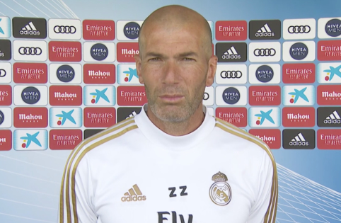 Komandos darbu treniruotėse patenkintas Z. Zidane'as tikisi čempioniškos sezono pabaigos