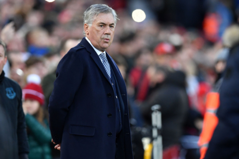"""C. Ancelotti: """"Mūsų pagrindinis tikslas išlieka tas pats – kitą sezoną žaisti Europos lygoje"""""""