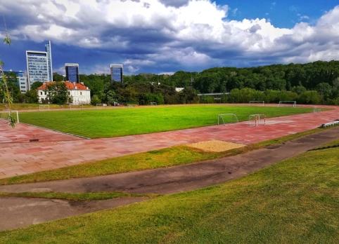 Lietuvos studentų futbolo lyga kreipėsi į Vyriausybę dėl LEU stadiono išsaugojimo