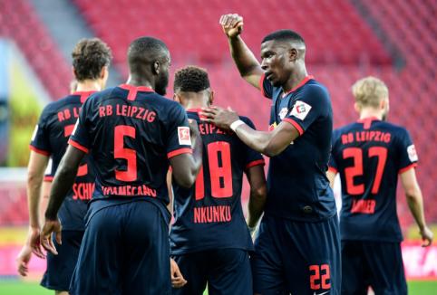 """""""RB Leipzig"""" rezultatyvioje dvikovoje palaužė """"Koln"""" ekipą"""