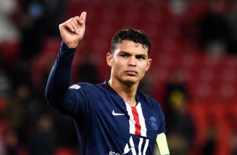 Šansas Europos klubams – T. Silva pasibaigus sezonui taps laisvuoju agentu