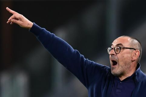 """Oficialu: """"Juventus"""" atleido fiasko patyrusį M. Sarri"""