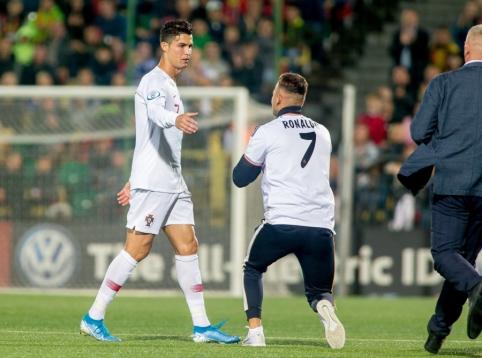 LFF pasiekė susitarimą su į aikštę išbėgusiu C. Ronaldo fanu