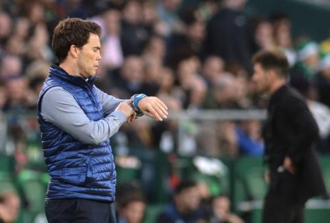 """""""Real Betis"""" atleido vilčių nepateisinusį trenerį"""