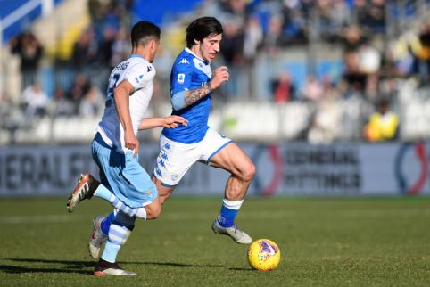 """""""Inter"""" artėja prie susitarimo su S. Tonali"""