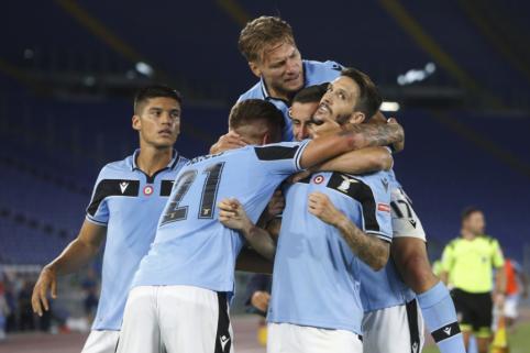 """""""Lazio"""" rungtynių pabaigoje palaužė """"Fiorentiną"""""""