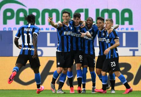 """""""Inter"""" tik pačioje mačo pabaigoje palaužė """"Parmą"""""""