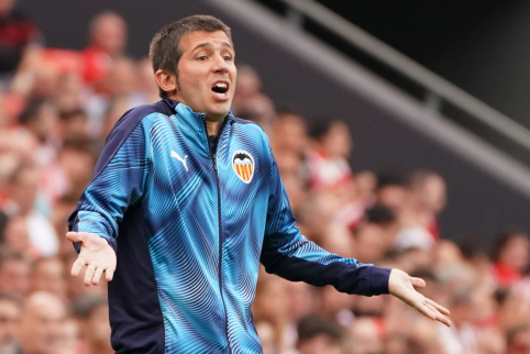 """""""Valencia"""" atliko permainas vyr. trenerio poste"""