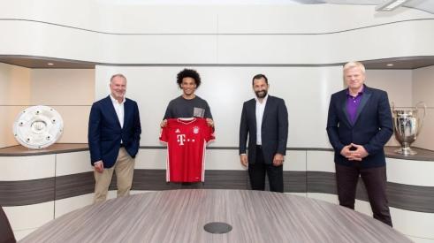 Oficialu: L. Sane sugrįžta į Vokietiją