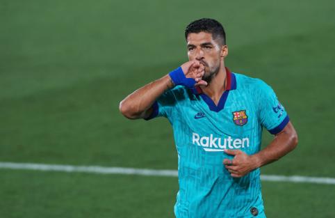 """L. Suarezas: """"Triumfuoti """"La Liga"""" pirmenybėse mums beveik nebeįmanoma"""""""