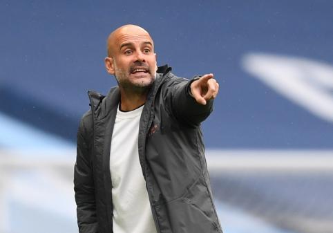 """P. Guardiola tikisi, kad """"Man City"""" kitą sezoną žais Čempionų lygoje"""