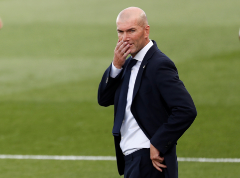 """Žurnalistas pasidalijo žiniomis, kas nutiktų Z. Zidane'ui pralaimėjus """"El Clasico"""""""