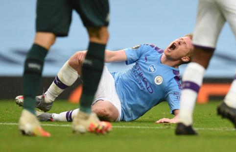 """Jei """"Man City"""" liks be Čempionų lygos, K. de Bruyne jau žino savo sprendimą"""
