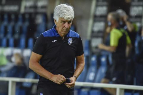 """G. P. Gasperini po lygiųjų su """"Juventus"""": """"Pagal žaidimą buvome verti pergalės"""""""