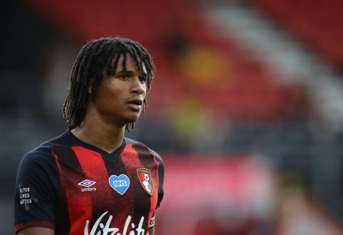 """""""Man City"""" pasiekė susitarimą su """"Bournemouth"""" dėl N. Ake įsigijimo"""