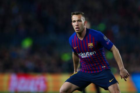 """""""Barcelona"""" Čempionų lygos finiše gali verstis be Arthuro"""