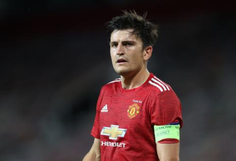"""""""Man Utd"""" į Paryžių išvyksta be E. Cavani ir H. Maguire'o"""