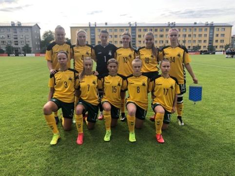 Atidedamas U-19 rinktinių Baltijos taurės turnyras
