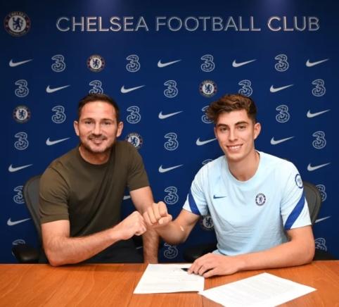 "Oficialu: K. Havertzas papildė ""Chelsea"" ekipą"