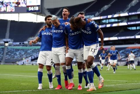 """""""Everton"""" sezono starte išvykoje palaužė """"Tottenham"""" ekipą"""