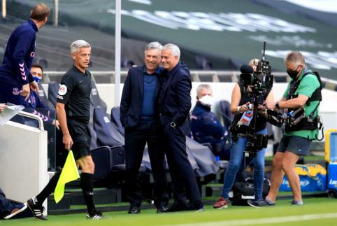 """J. Mourinho įvardijo pagrindinę pralaimėjimo prieš """"Everton"""" priežastį"""