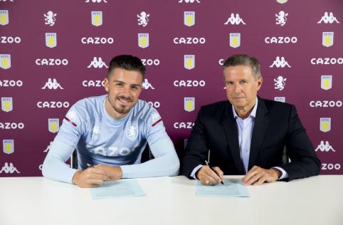 """Oficialu: J. Grealishas susiejo savo ateitį su """"Aston Villa"""""""