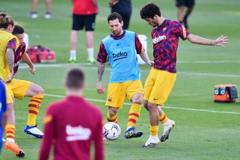 """""""Barcelona"""" žaidėjams – priminimas laikytis """"L. Messi taisyklės"""""""