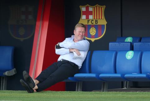 """Prieš pirmąsias """"Barcelona"""" sezono rungtynes – nemaloni staigmena R. Koemanui"""