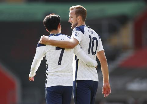 """Įspūdingas """"Tottenham"""" dueto pasirodymas nepaliko šansų """"Southampton"""" ekipai"""