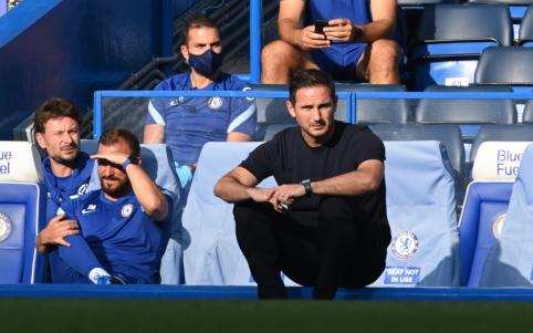 """F. Lampardas liko patenkintas savo komandos žaidimu rungtynėse su """"Liverpool"""""""