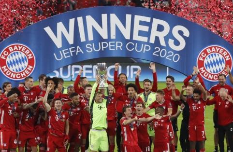 """Bayern"" iškovojo UEFA Supertaurę"