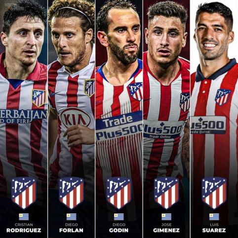 """""""Atletico"""" ir geriausi urugvajiečiai – neišskiriami"""