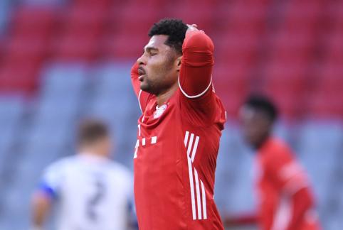 """""""Bayern"""" žygį Čempionų lygoje pradės be S. Gnabry"""