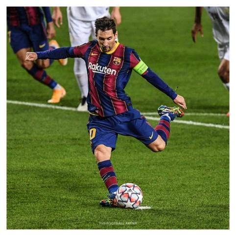 Šeši iš pastarųjų 11 L. Messi įvarčių – realizuoti 11 m baudiniai