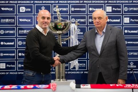 J. Martinsas tikisi dar vieno istorinio pasiekimo, S. Širmelis laukia futbolo šventės