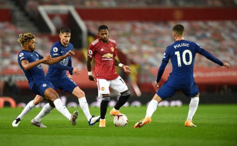 "Man Utd"" ir ""Chelsea"" dvikova baigėsi be įvarčių"