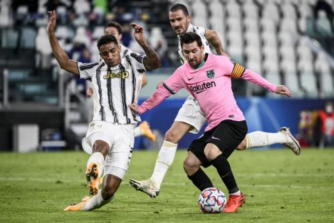 """""""Marca"""": sausio mėnesį L. Messi nebus parduotas"""
